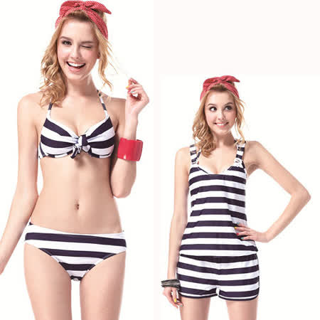 【SAIN SOU】大女比基尼三件式泳裝附泳帽A93326