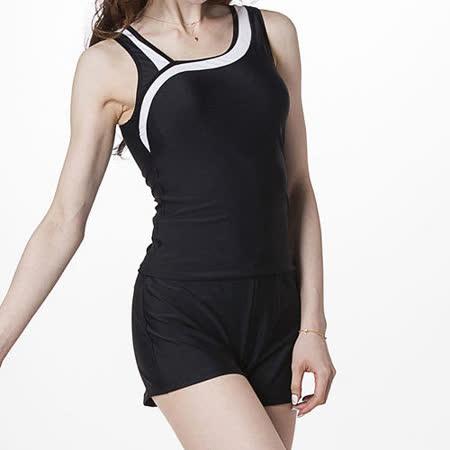【Bich Loan】高雅大女三件式泳裝附泳帽13006603