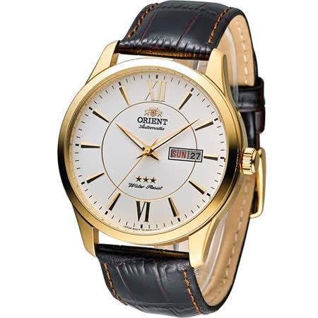 東方 ORIENT 經典都會時尚機械腕錶 FEM7P005W