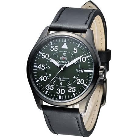 東方 ORIENT 飛行風格時尚機械錶 FER2A002F