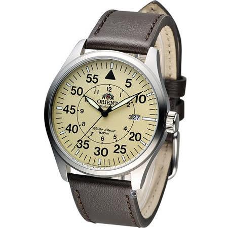 東方 ORIENT 飛行風格時尚機械錶 FER2A005Y