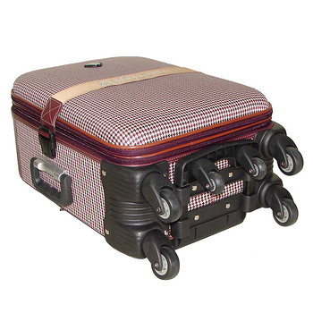 【ROYAL POLO皇家保羅】25+29吋-時尚千鳥紋旅行箱/行李箱/拉桿箱