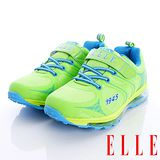 ELLE時尚童鞋-全氣墊運動款-R40165綠-(22cm-25cm)