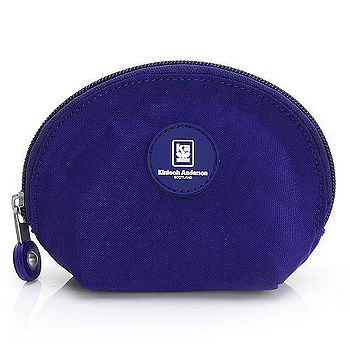 【金安德森】樂活美學 半月貝殼款手握附件包-紫羅蘭
