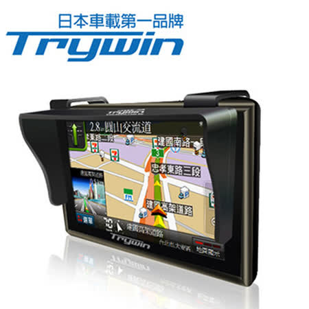 Trywin 原廠五多鏡頭行車紀錄器吋導航萬用遮陽板