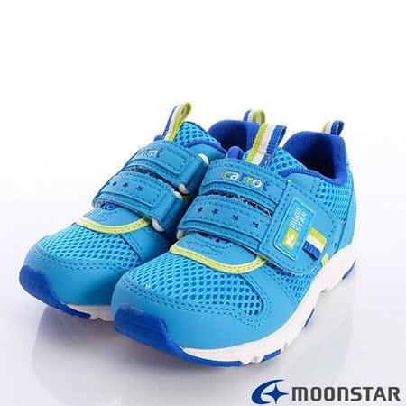 日本Carrot機能童鞋-輕量速乾機能款-CRC207535藍(18cm-20cm)