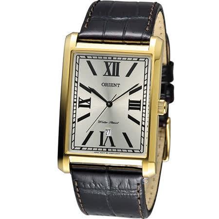東方錶 ORIENT 典雅大方形時尚錶 FUNEM001C