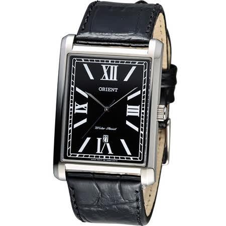 東方錶 ORIENT 典雅大方形時尚錶 FUNEM002B