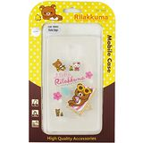 Rilakkuma 拉拉熊/懶懶熊 Samsung Galaxy Note Edge 彩繪透明保護軟套-Fun Fun熊