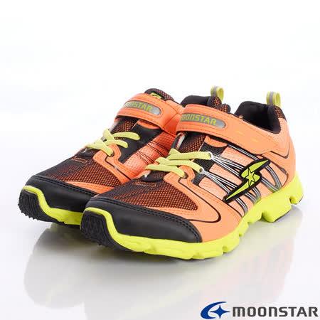 日本月星頂級競速童鞋-創新競速鞋款-SSJ5643橘(20cm-24.5cm)
