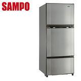 [促銷]SAMPO聲寶 580公升省電脫臭三門冰箱SR-M58GV(S3)送安裝