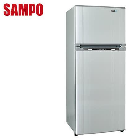 [促銷]SAMPO聲寶 410L變頻二門冰箱SR-N41D(S5)送安裝