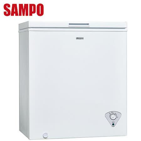 [促銷]SAMPO聲寶 150公升上掀式冷凍櫃(SRF-151)