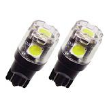 日本STANLEY超高亮度T10車用小燈 LED燈(一組二入)