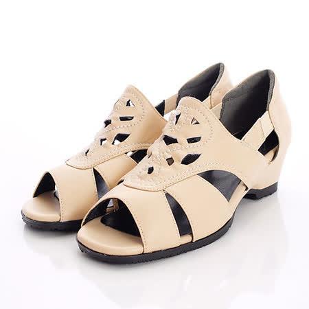 日本製輕熟男女機能鞋-通勤OL小羊皮女鞋-GBK6502LBG卡其(22cm-24.5cm)