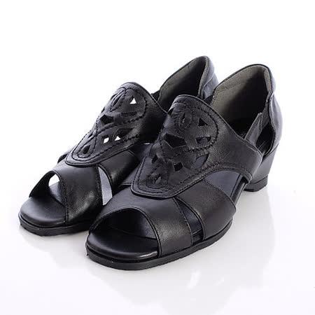 日本製輕熟女機能鞋-通勤OL小羊皮女鞋-6502BL黑(22cm-24.5cm)