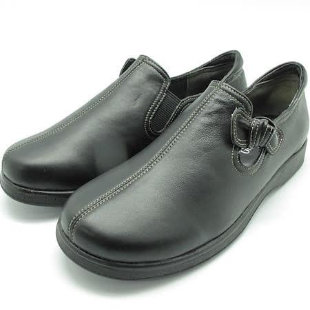 日本製輕熟女機能鞋-通勤OL小羊皮女鞋-GBK8121BL黑(22cm-24cm)