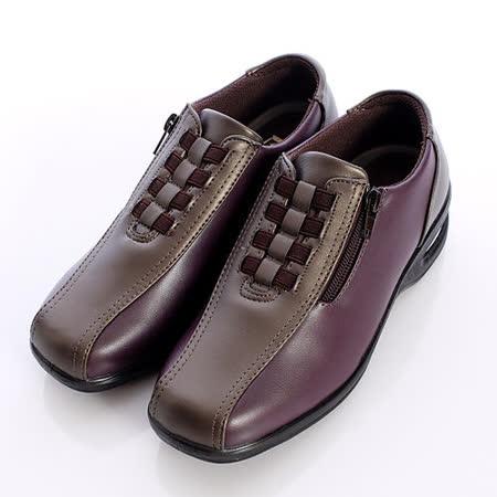 日本製輕熟女機能鞋-輕熟女氣墊休閒鞋-249 493 WINBZ紅黑(22.5cm-24.5cm)