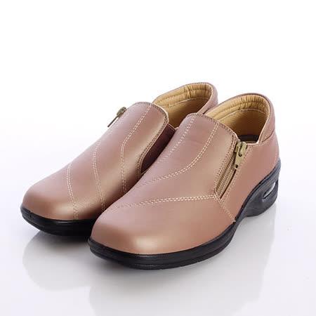 日本製輕熟女機能鞋-輕熟女氣墊休閒鞋-249-417H-PKBG粉(23cm-23.5cm)