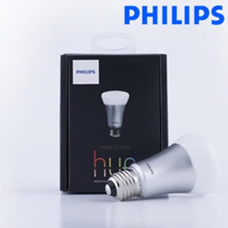 【飛利浦 PHILIPS】HUE 智慧燈泡-無線遙控LED新革命(單顆) 兩入組合