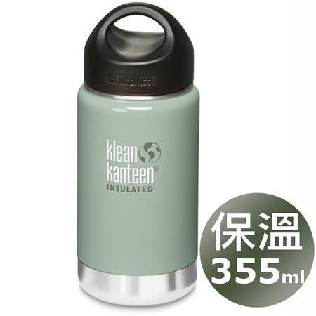 (任選)美國Klean Kanteen 保溫鋼瓶355ml_岩石灰
