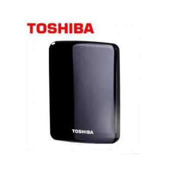 TOSHIBA Canvio Connect 500G 2.5吋 外接硬碟 黑