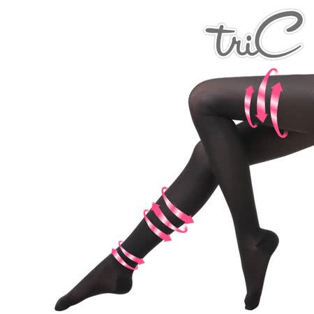 【Tric】台灣製 200Den包趾壓力褲襪 單雙(壓力襪/顯瘦腿襪/健康襪/彈力襪/絲襪褲襪)