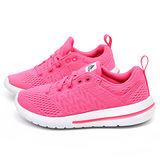 Adidas女款Element urban run輕量運動跑鞋M29301-粉