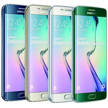 Samsung Galaxy S6 edge 64G 5.1吋雙曲面智慧旗艦機 綠-加贈原廠背蓋 G9250