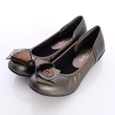 【好物分享】gohappy 購物網日本製輕熟女機能鞋-通勤OL小羊皮女鞋-5050BZ咖啡金(22cm-24.5cm)去哪買蘭 城 新 月
