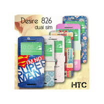 VXTRA HTC Desire 826 / 826W dual sim 藝術彩繪視窗皮套
