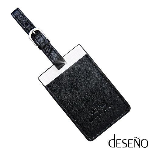 Deseno~高 十字皮革紋旅行 ~黑色
