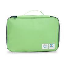 獨家識別小卡設計 加大旅行衣物收納包-淺綠