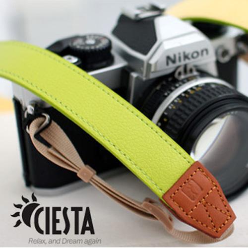 【CIESTA】Sweety Yellow Green相機背帶