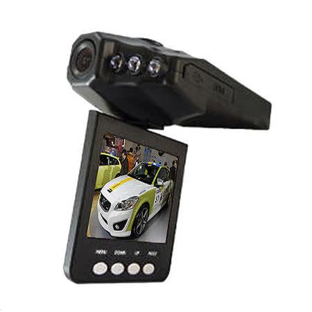 魔鷹 270度翻轉螢幕 6顆紅外夜視燈 行車紀錄器【加送16G SD記憶卡】