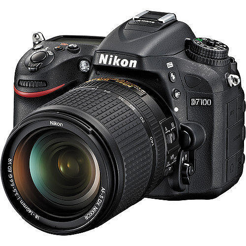 Nikon D7100+18-140mm單鏡組(中文平輸) - 加送64G卡+單眼相機包+拭鏡筆+讀卡機+大吹球拭鏡布清潔組+硬式保護貼