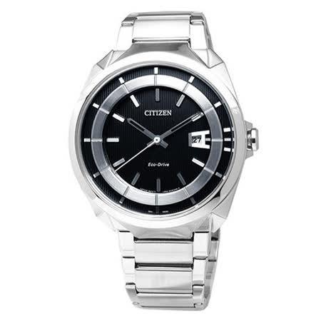 【CITIZEN】時尚風格光動能腕錶 AW1010-57E