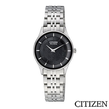 CITIZEN  Eco-Drive 光動能輕薄時尚仕女腕錶 EG3210-51E