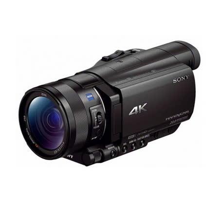 SONY FDR-AX100 4K高畫質攝影機(平輸繁中)--送單眼攝影包+強力大吹球+細毛刷+清潔組+硬拭保護貼