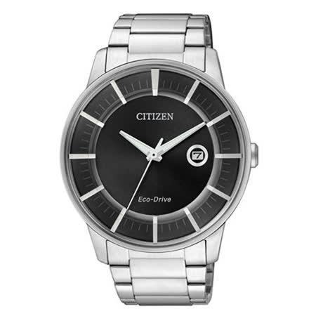 【CITIZEN】簡約概念光動能腕錶 AW1260-50E
