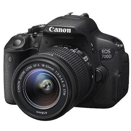 Canon EOS 700D 18-55mm STM 變焦鏡組(中文平輸)-加送清潔組+高透光保護貼