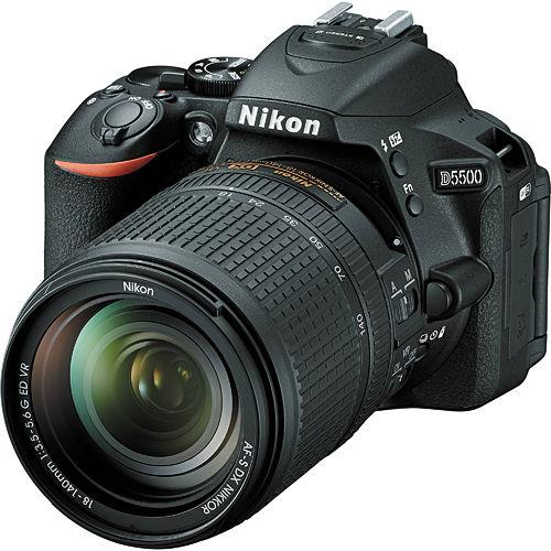 Nikon D5500 +18-140mmVR(中文平輸) - 加送單眼雙鏡包+強力大吹球+細毛刷+拭鏡布+清潔組+硬保護貼