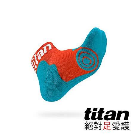 Titan專業籃球襪Light-橘/青