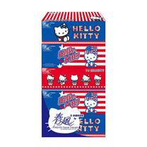 【春風】 Hello Kitty美國風面紙 150抽*5盒*10串