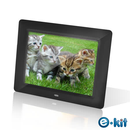 逸奇e-Kit  8吋雪櫻花數位相框電子相冊 DF-F023-BK (黑色款)