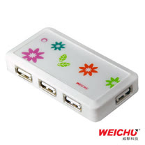 WEICHU星花戀_HU-510W_USB2.0 HUB 集線器