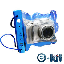 e-kit逸奇 SJ-P121_相機防水20米 中型保護套