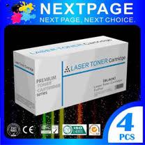 NEXTPAGE 台灣榮工 SAMSUNG CLT-409S 相容碳粉匣 四色特惠組 (CLP-315/CLX-3175適用)
