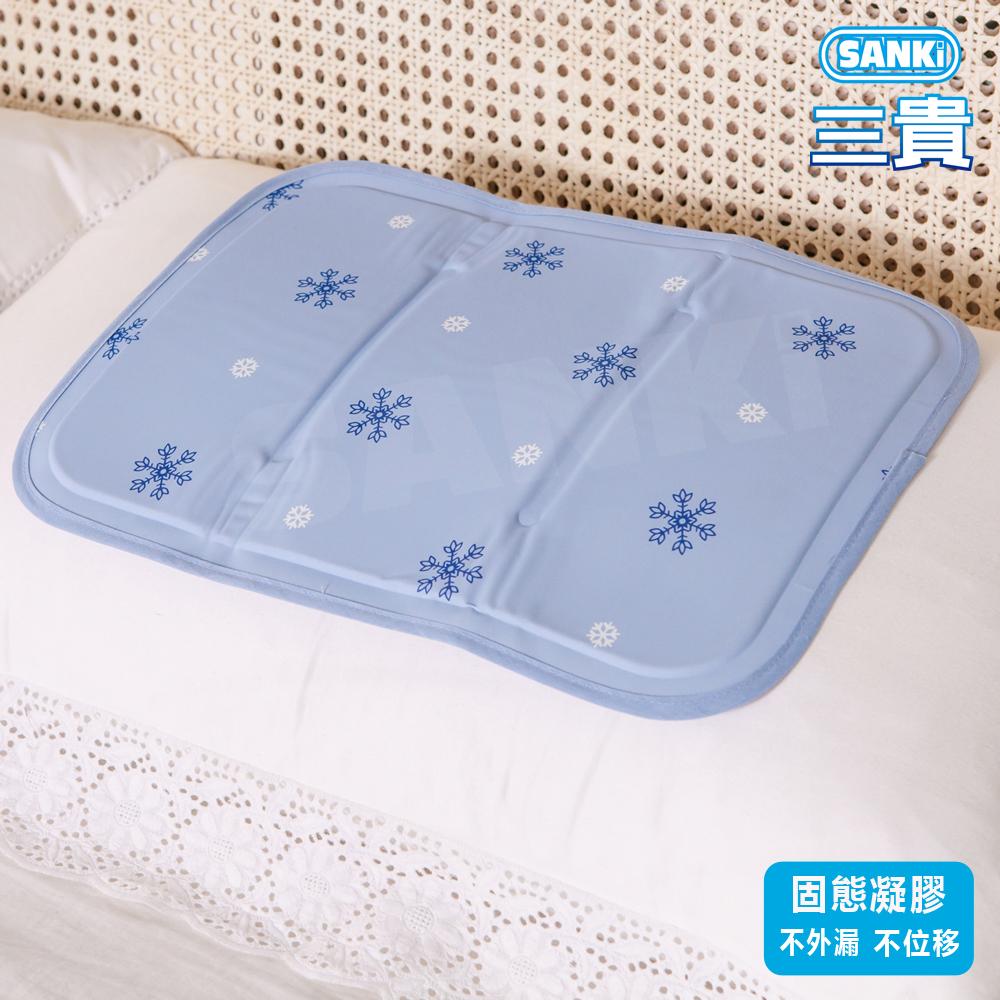 SANKI冰涼枕座墊^(薰衣草風^)^(30x40cm 0.68kg^)