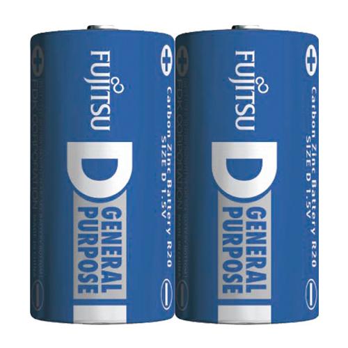 【SONY 索尼】1號 碳鋅電池/碳鋅乾電池/碳性電池 SUM1-nup2a (2入X8包)